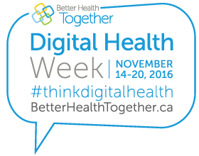 We Need to Talk About Digital Health – Canadians asked to join the conversation during digital health week, November 14‐20